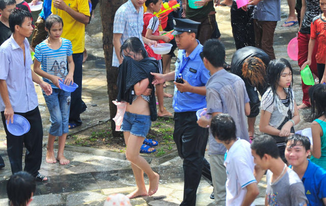 Water Festival in China Turned Into Mass Women Assault