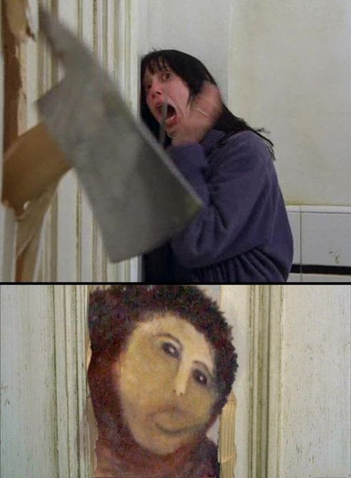 Internet Responds to Jesus Fresco Restoration Fail