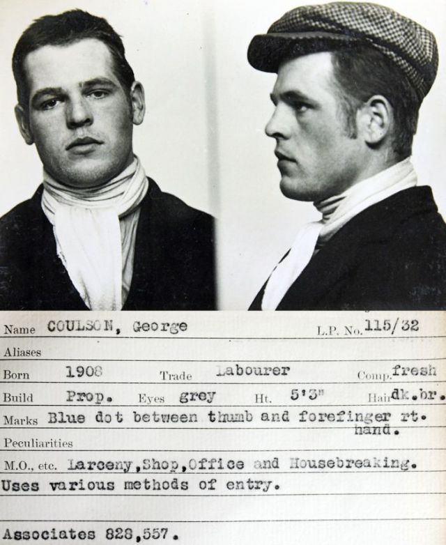 Mugshots of Criminals from the '30s