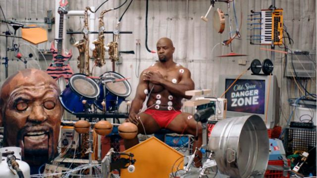 WTF Old Spice Muscle Music – Better than Google Music Doodles