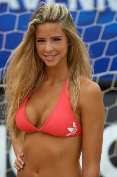 Beach Soccer Is All About Cuties