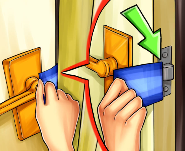 How to Open a Door with a Credit Card