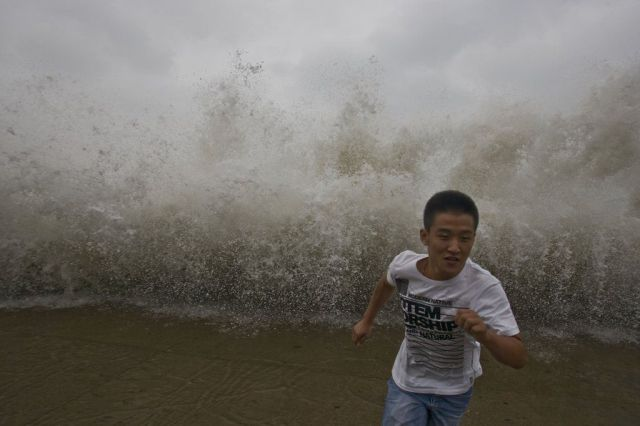 Typhoon Bolaven in China