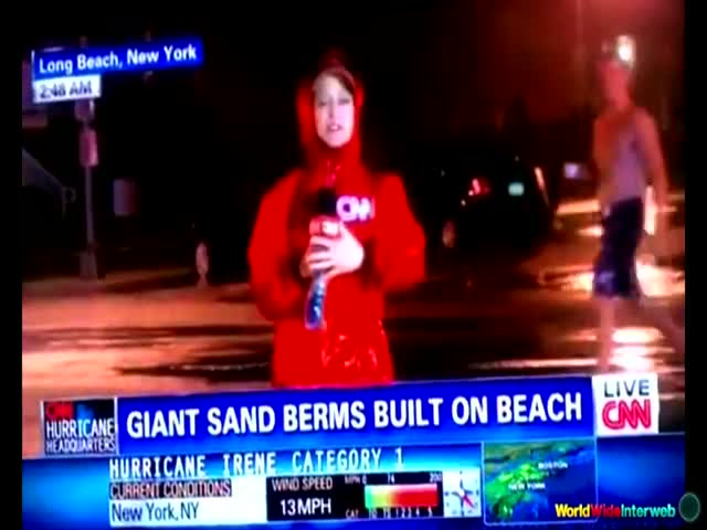 Hurricane Reporter Fails Compilation