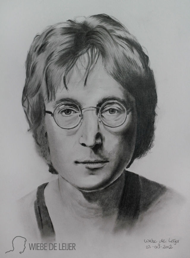 A Guy Learns to Draw Portraits All by Himself