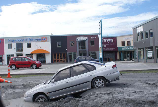 Christchurch Liquefaction