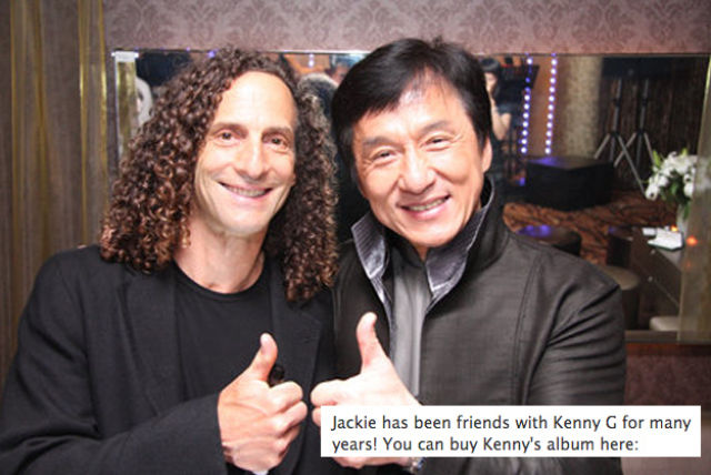 That's Why Jackie Chan's Facebook Page Rocks