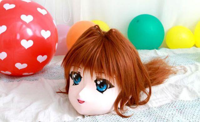 Weird Japanese Anime Model