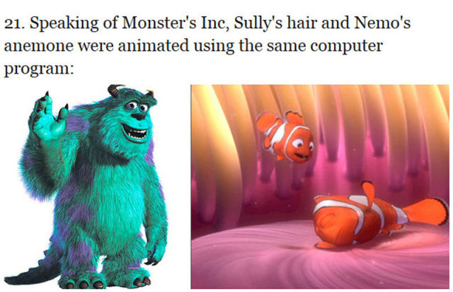 "Curious Facts About the ""Finding Nemo"" Movie"