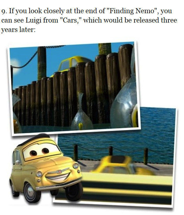 """Curious Facts About the """"Finding Nemo"""" Movie"""