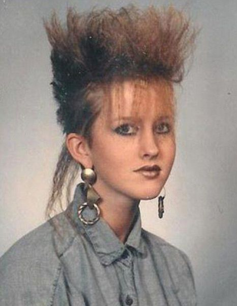 Totally Awkward Yearbook Portraits From The 80s 13 Pics