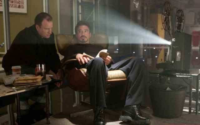 "Behind the Scenes of the ""Iron Man 2"""