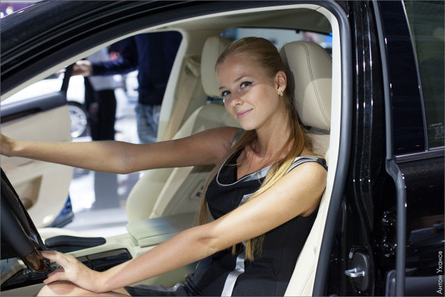 Girls of Moscow Car Show (55 pics) - Picture #40 ...
