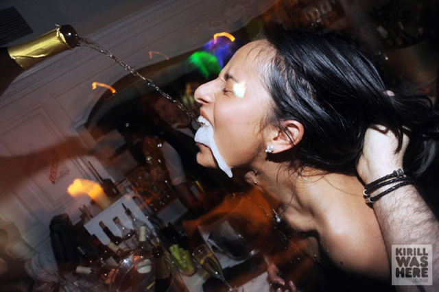Nightclub Champagne Frenzy