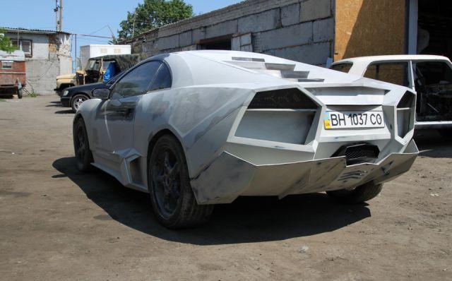 Ukrainian Guy Turns His Car into Lamborghini