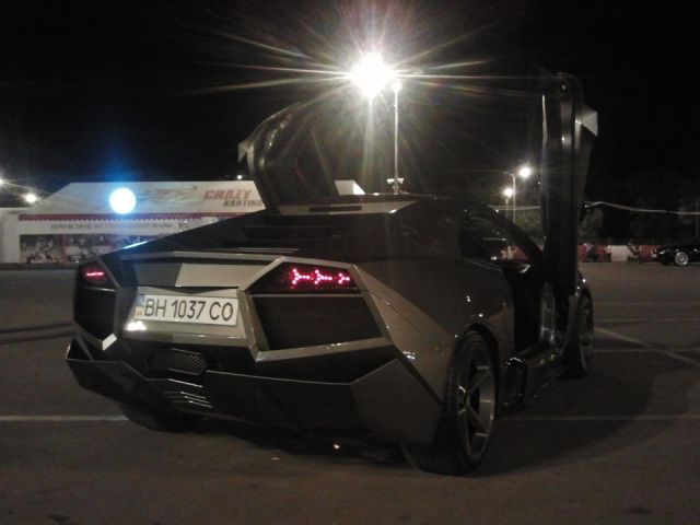 Ukrainian Guy Turns His Car into Lamborghini