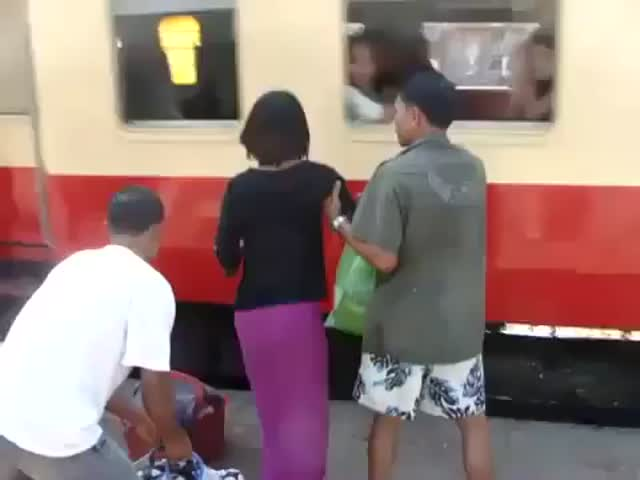 How They Take the Train in Thailand