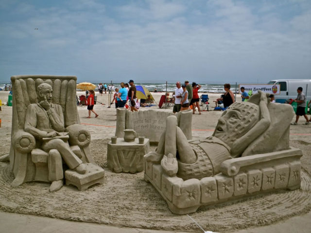 Sand Sculpture Masterpieces