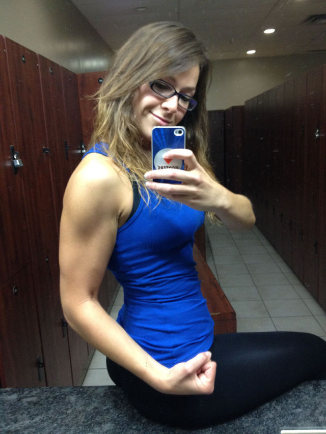 Chubby Girl's Inspiring Bodybuilding Progress