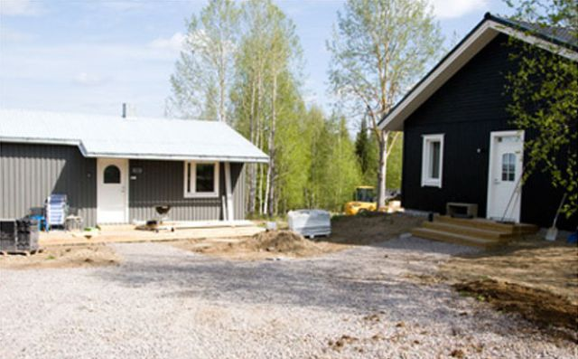 Couple from Sweden Builds Their Own House