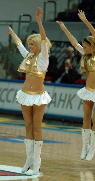 Get Ready for Some Nice Cheerleader Action