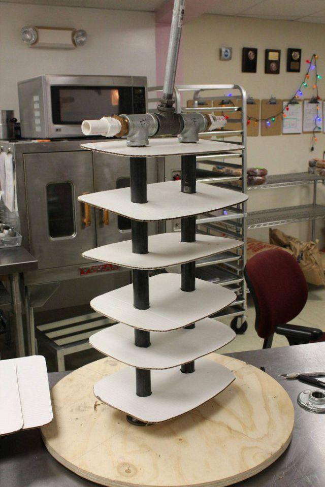 Making of Life-Size Darth Vader Cake