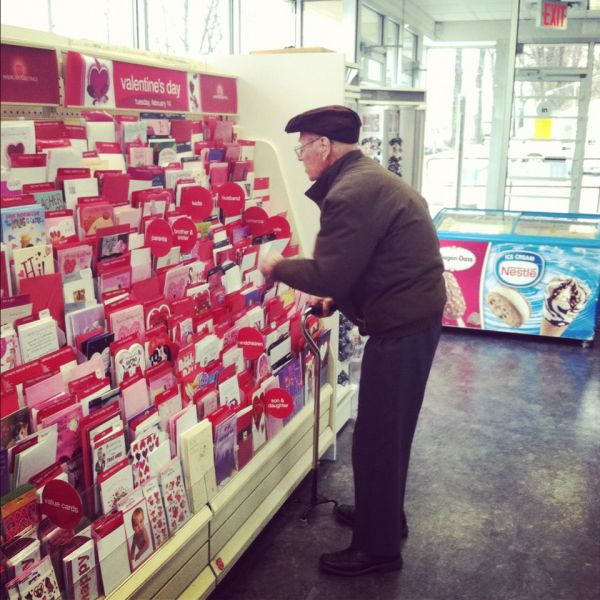 Old Couples in Love Are So Cute