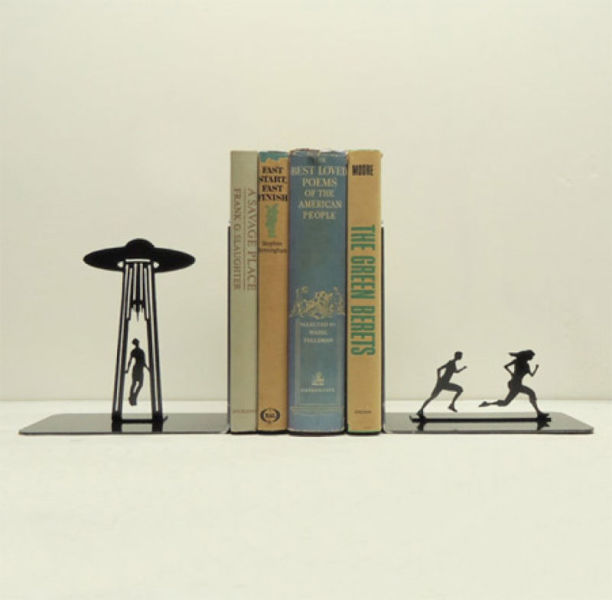 Unique Metal Bookends 34 Pics