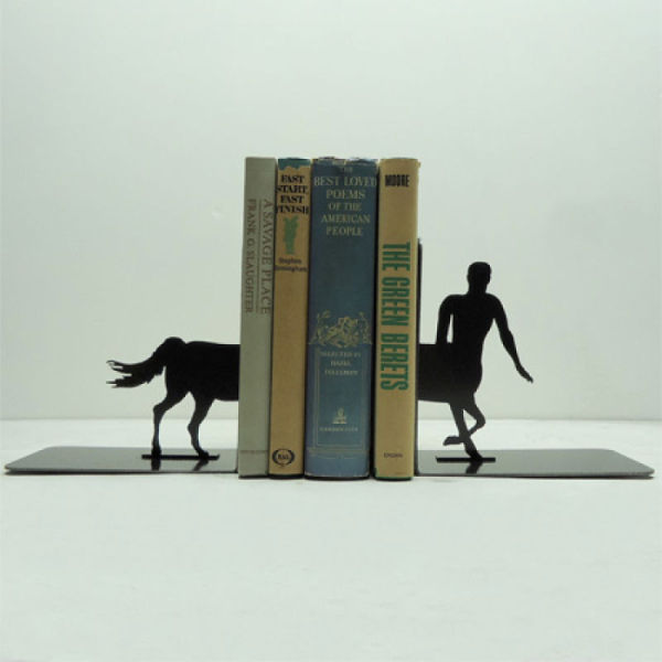 Unique Metal Bookends