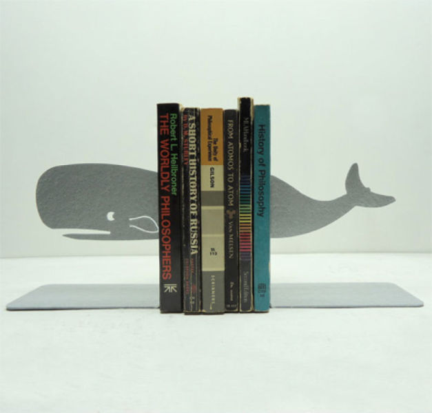 Unique Metal Bookends