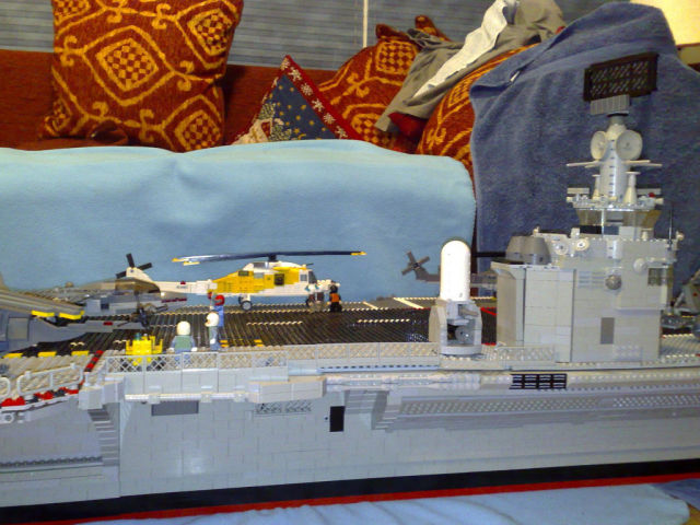 Cool DIY LEGO Aircraft Carrier
