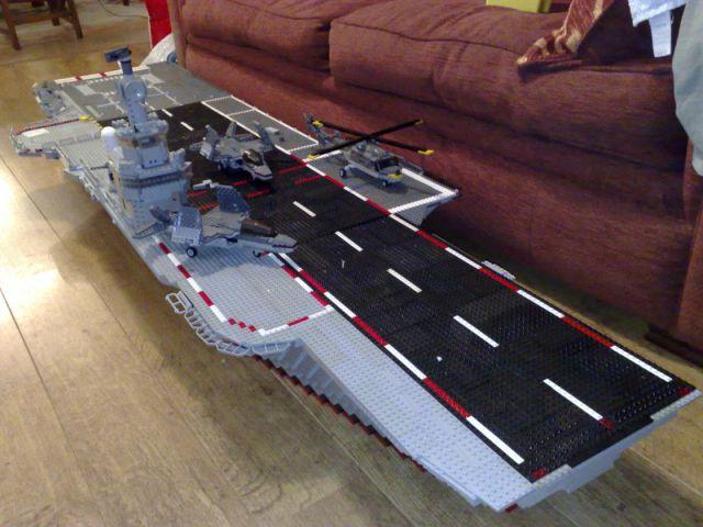 cool diy lego aircraft carrier 19 pics picture 15 izismile com