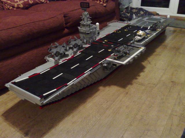 cool diy lego aircraft carrier 19 pics picture 17 izismile com