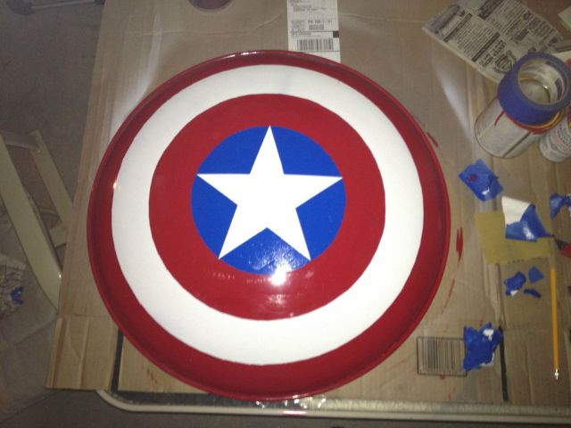 Making of the DIY Captain America