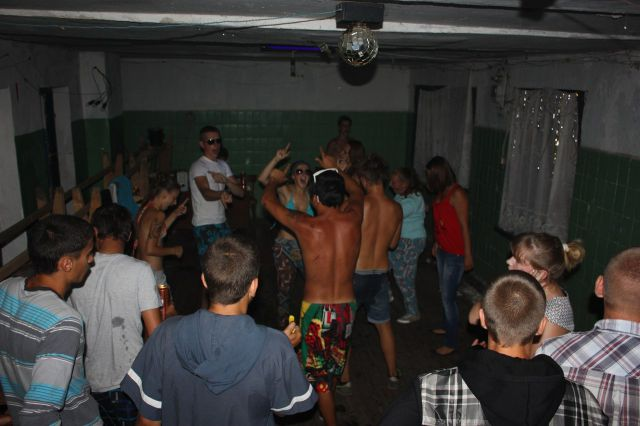 Parties in Backwoods Russian Clubs. Part 2