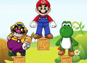 Mario Landing
