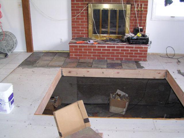 DIY Hidden Hot Tub