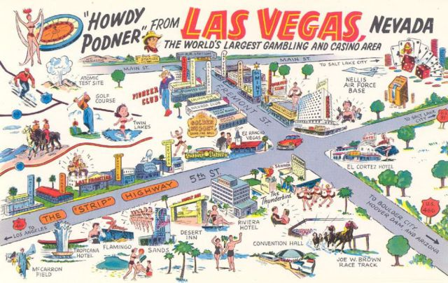 Las Vegas in the First Half of the 20th Century