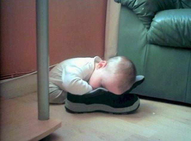 Funny and Awkward Kid Sleeping Positions
