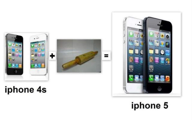 iPhone4 + Rolling Pin (Belan) = iPhone5?