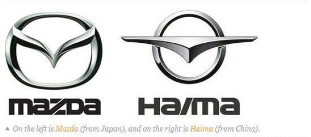 Knockoff Car Company Logos