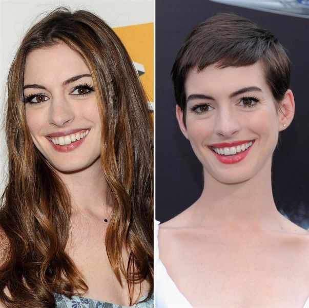 Celebs Who Ditched Their Long Hair