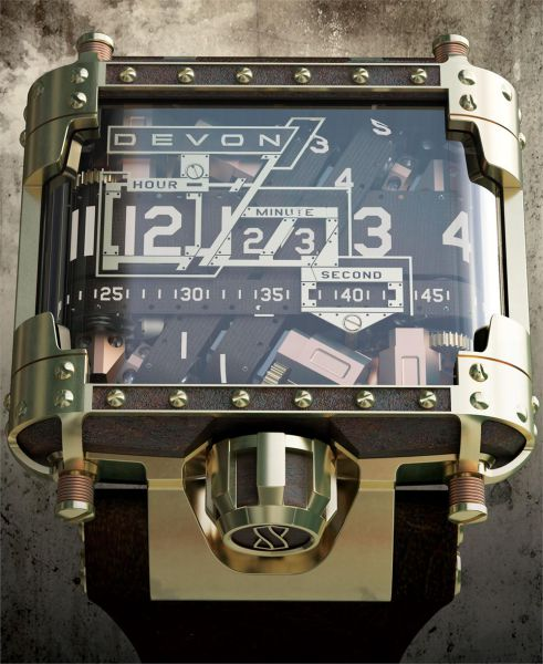 Cool Steampunk Wristwatch
