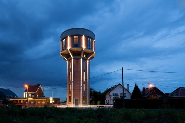 Water Tower Home in Belgium