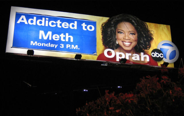 Anti-Meth Signs Around the US