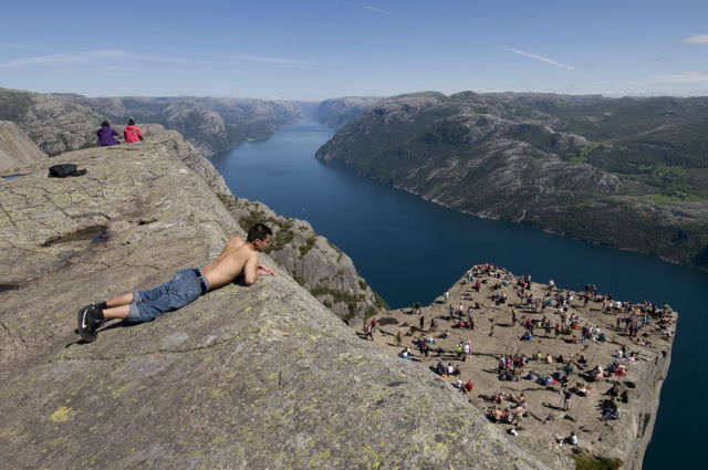 Incredible Cliff of Preikestolen