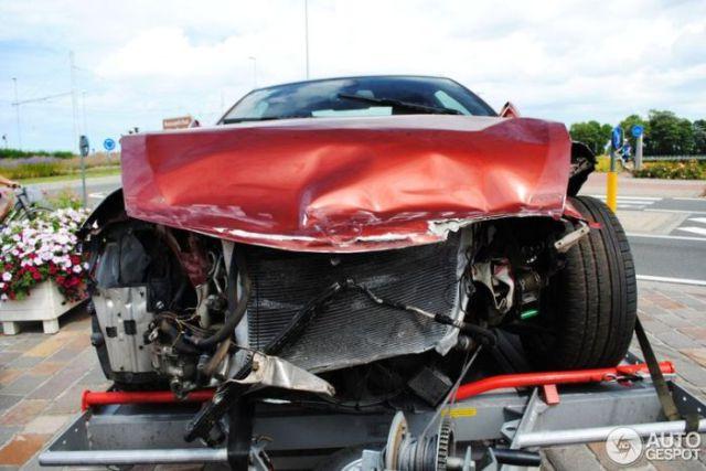 Luxury and Sports Car Wrecks