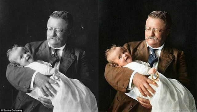 Black-and-White Photos Colorized