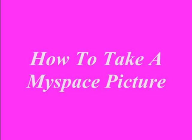 Easy Guide on Making MySpace Profile Pics
