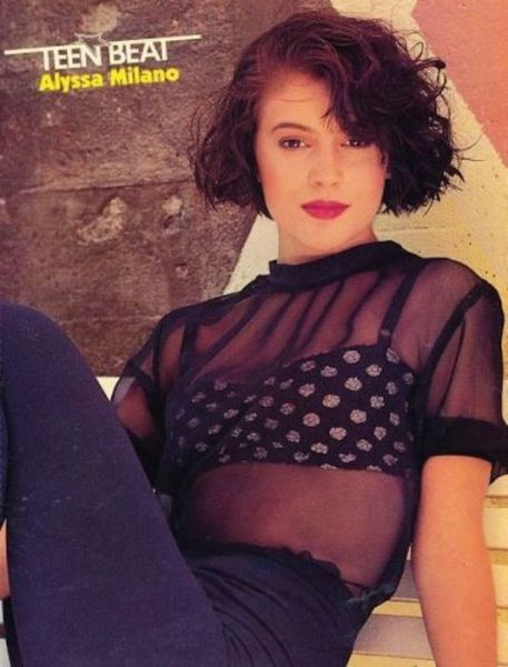 Alyssa Milano Is the Fashion Queen of the '90s